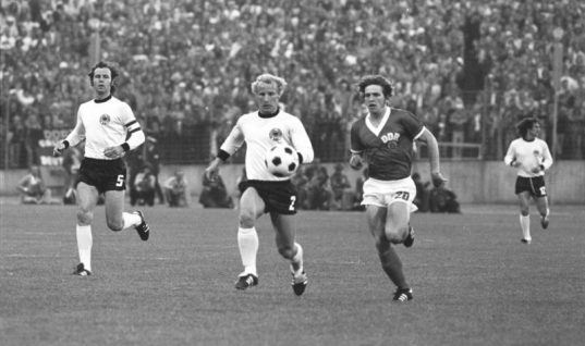 "Franz Beckenbauer – også kaldet ""Der Kaiser"""