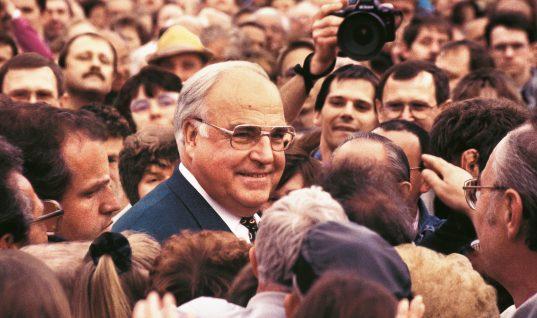 Helmuth Kohl – en gigant blandt de tyske politikere
