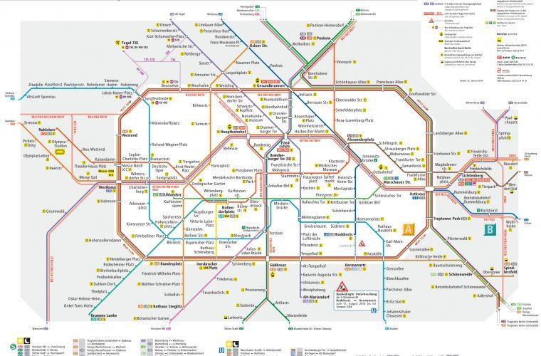 Kom rundt i Berlin – tog, bus og tram