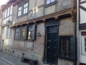 Bymidte i Quedlinburg