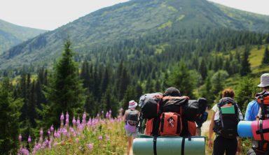 Wandern und Herberge